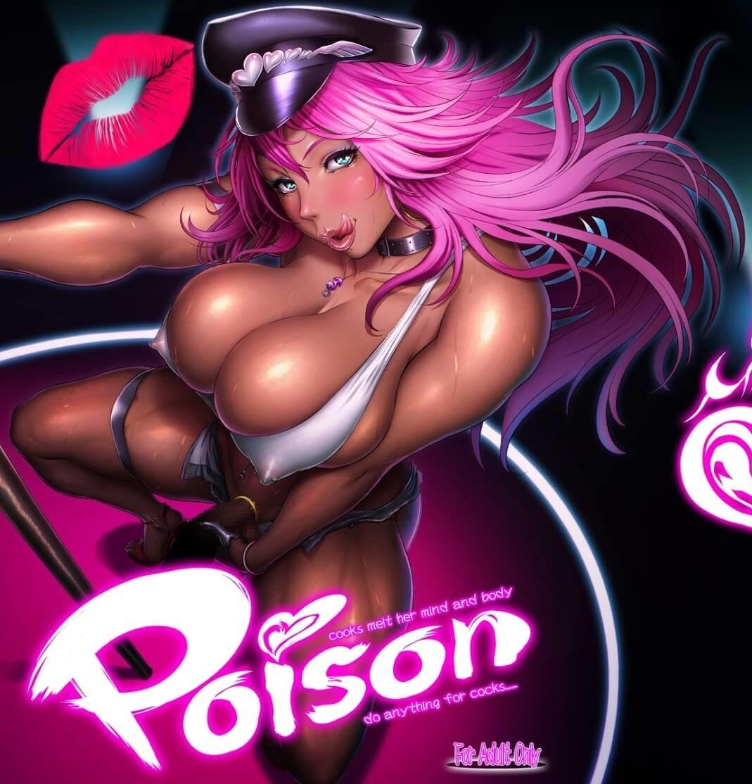 Street Fighter Hentai Poison Pagando Boquete