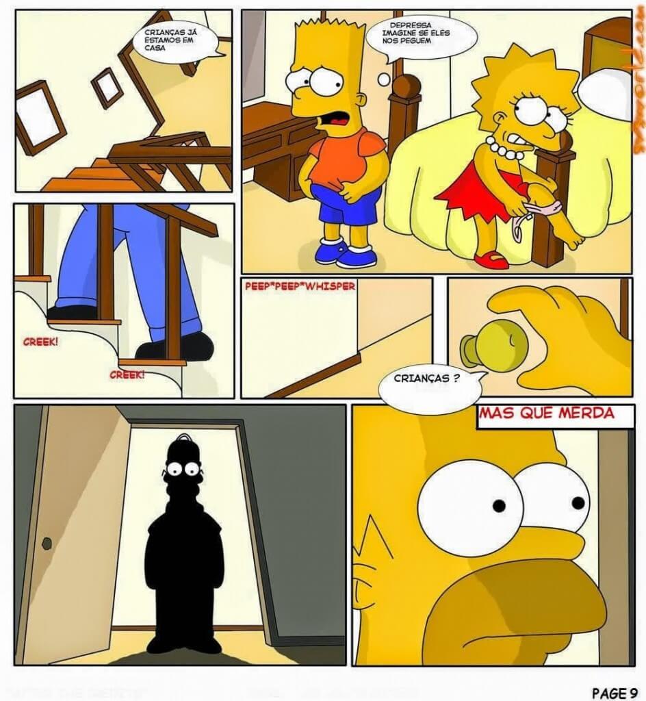 Hentai Os Simpsons Bart Comendo a Lisa