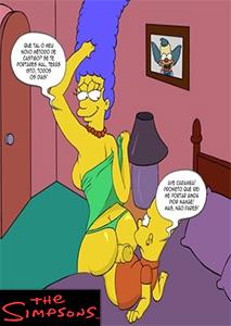 Hentai Os Simpsons Bart Transando com a Marge