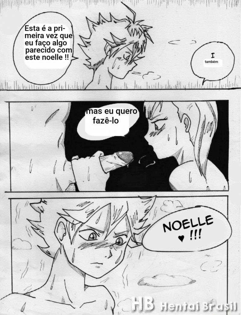 Hq Hentai Black Clover Asta comendo a Noelle