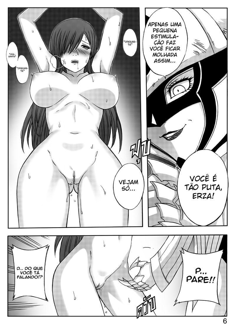 Fairy Tail Hentai Erza Scarlet Fazendo Sexo