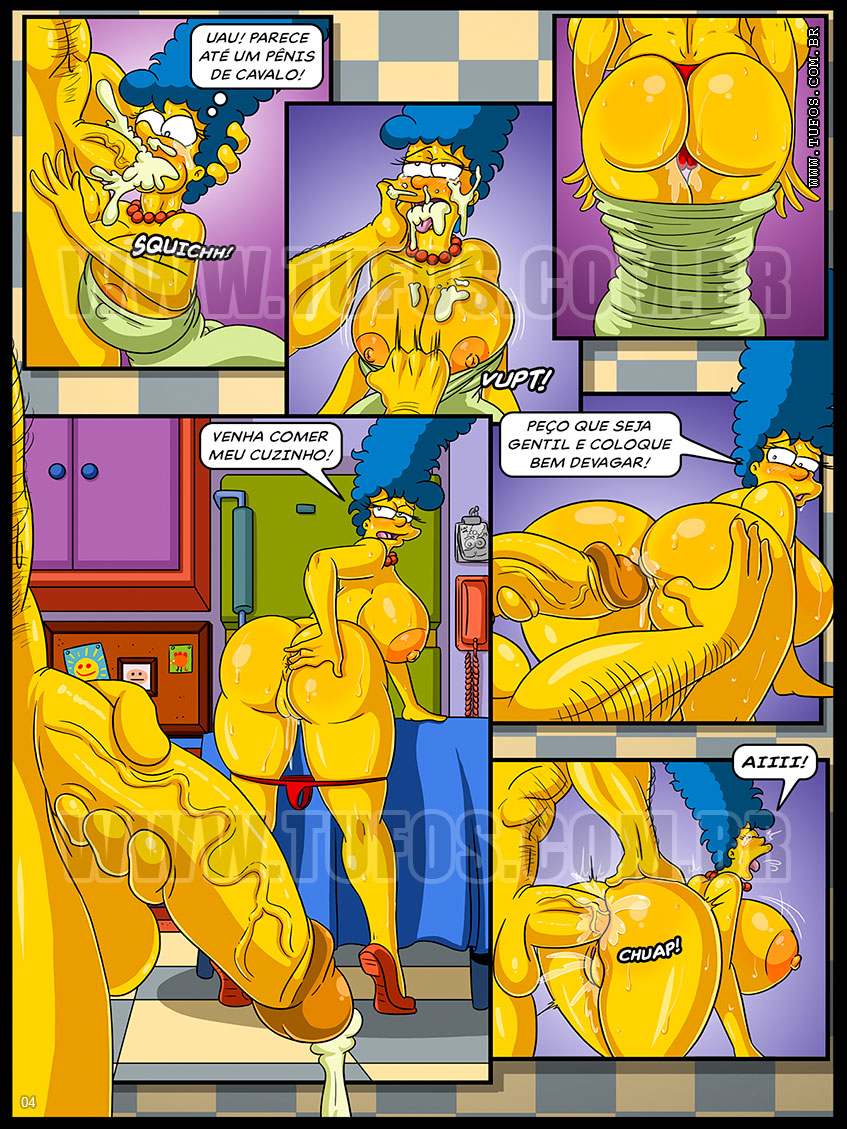 Os Simpsons Hentai Marge Simpson Sexo