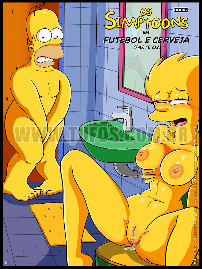Hentai Os Simpsons Homer comendo a Lisa