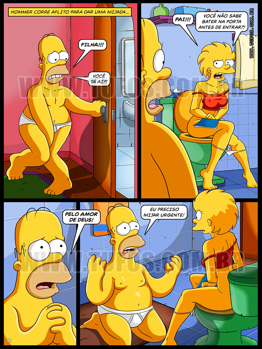 Simpsons porn blog