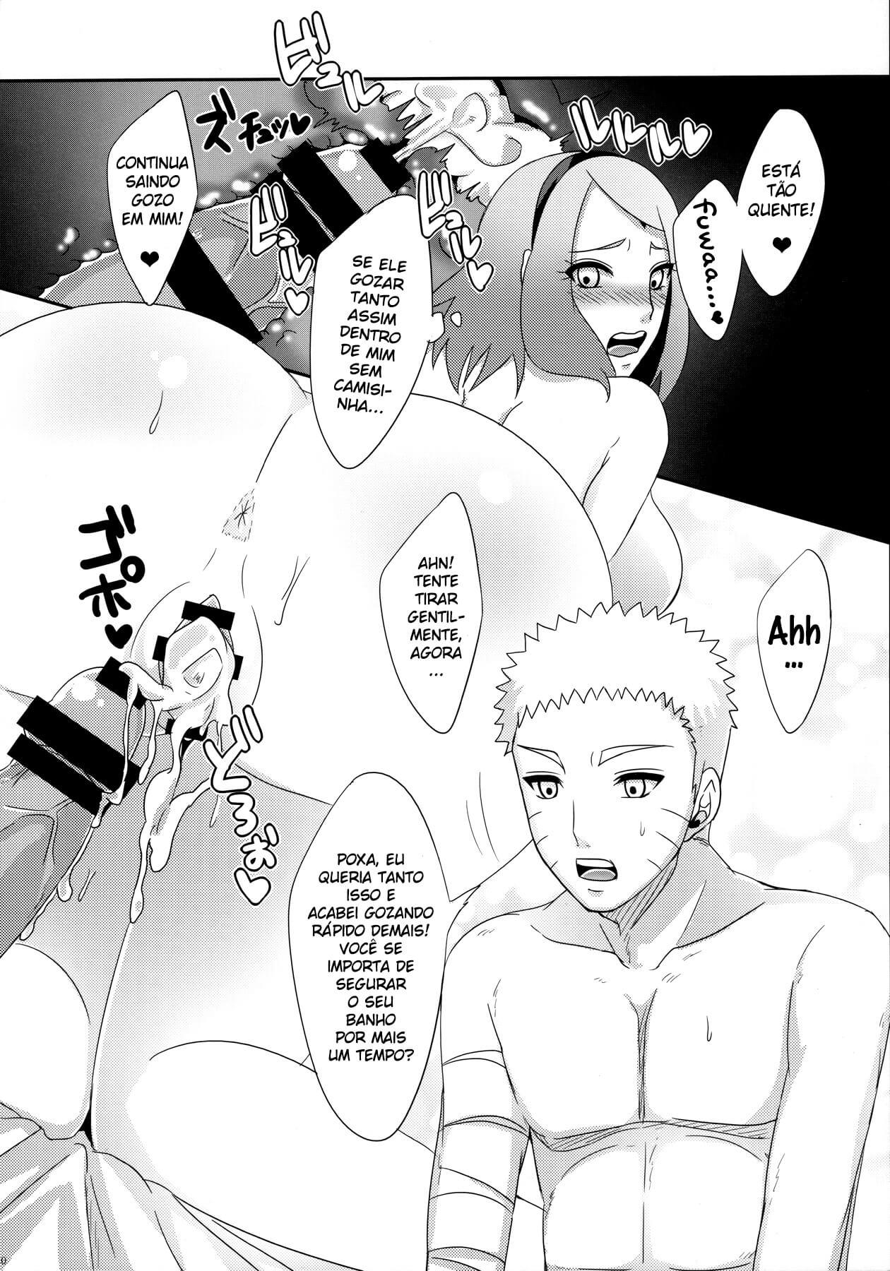 Hentai Naruto comendo Sakura
