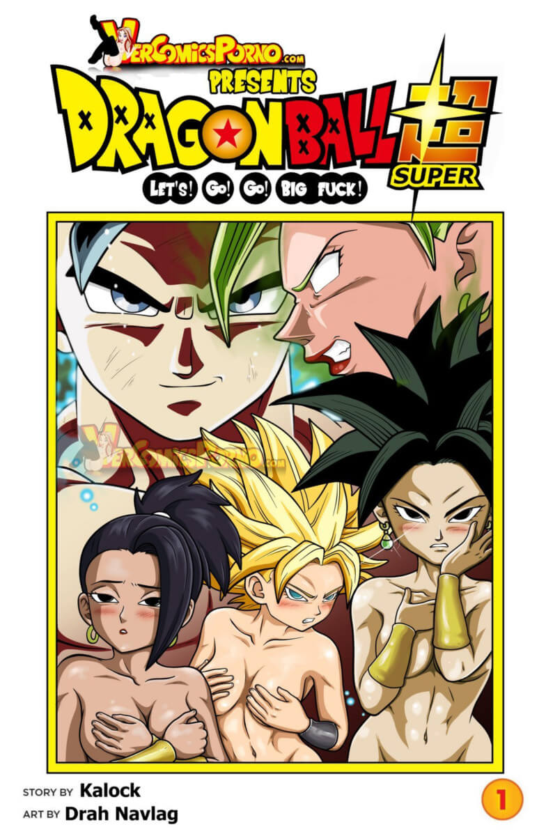 Dragon Ball Super Hentai Goku X Kale e Caulifla