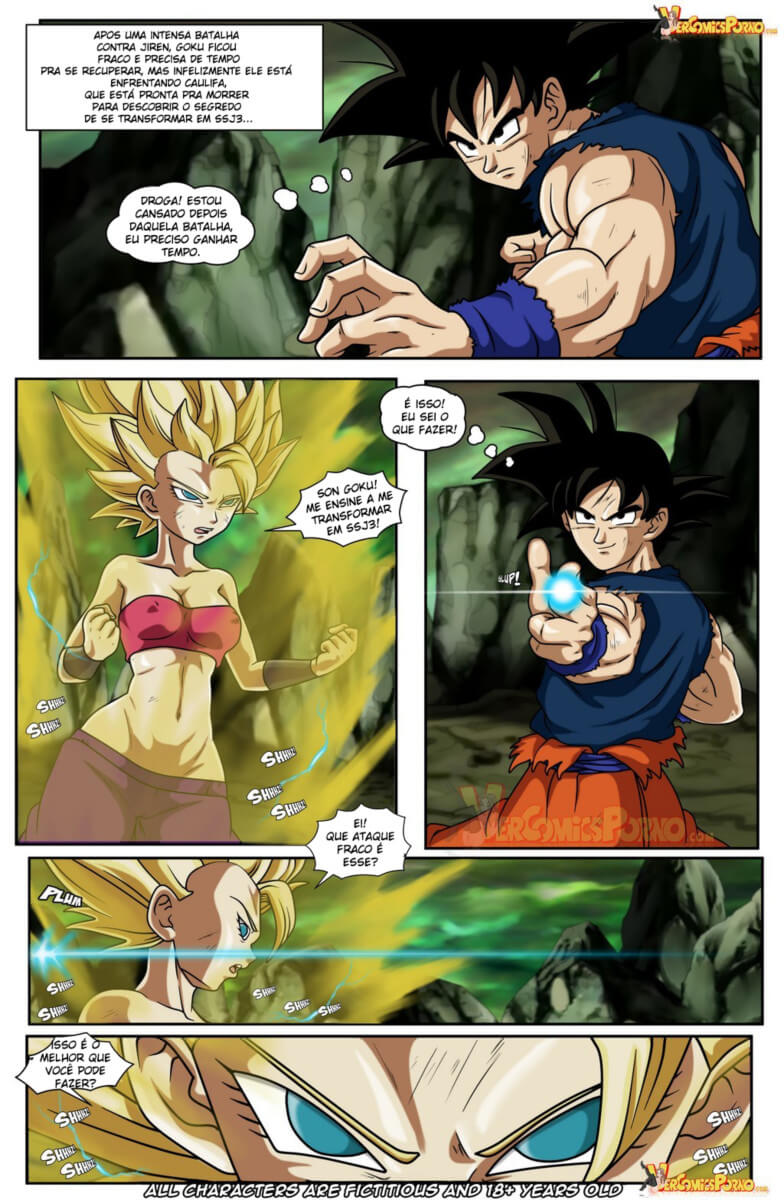 Agree, x comic goku porn are mistaken. suggest