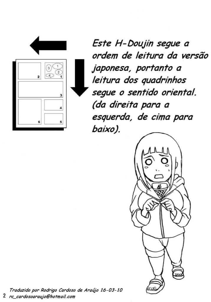 Naruto comendo Hinata