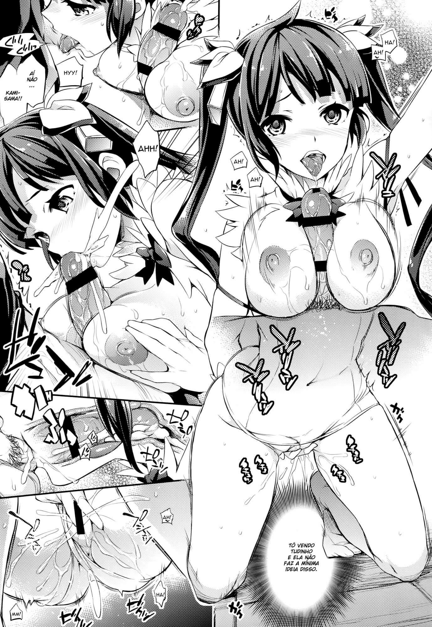 Dungeon ni Deai o Motomeru no wa Machigatteiru Darou ka? Hentai